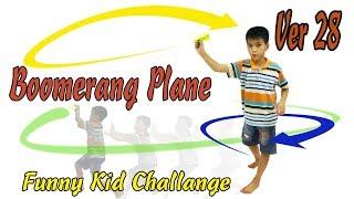 Cách Gấp Máy Bay Boomerang Ver 28, Origami Boomerang plane, #BoomerangPlane #XTT #XTT