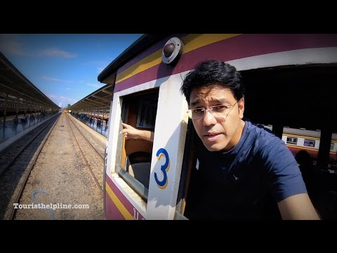 Bangkok to Ayutthaya : 15 baht in a train; Can you travel cheaper than this!