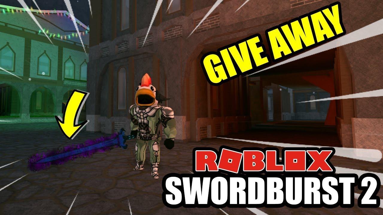 Roblox Swordburst 2 Giving Away 3 Aura S 500 Subs Doovi