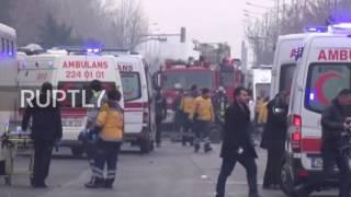 Turkey: 13 killed and dozens injured in Kayseri bus blast - reports