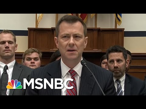 Congressman On Peter Strzok: Thursday Was Wrong Hearing, Wrong Priorities | Morning Joe | MSNBC