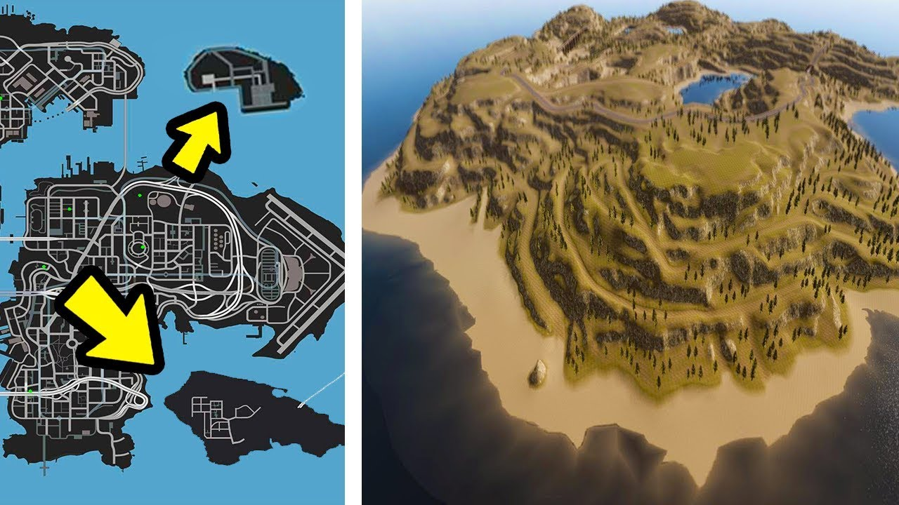ONLY 1% of all GTA players know this SECRET LOCATIONS (GTA 5)