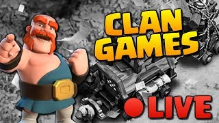 Clan Games LIVE in Clash of Clans! Tips & Attack Strategy for CoC