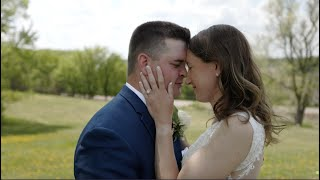 The tears couldn't stop falling... 😭 // Hannah & Cody's Lost Spur Wedding