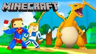 Minecraft Pokemon S2 #2 - ŁAPIEMY POKEMONY!