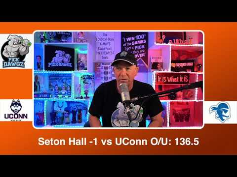 Seton Hall vs UConn 3/3/21 Free College Basketball Pick and Prediction CBB Betting Tips