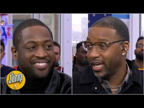 Tracy McGrady to D-Wade: I never told Kobe how much I appreciated him, so I'm telling you | The Jump