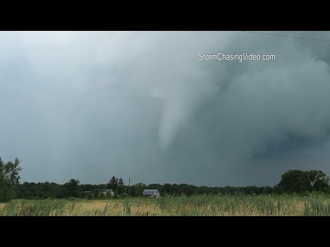 8/24/2014 Benton County, MN Damaging Tornado & Aftermath B-Roll