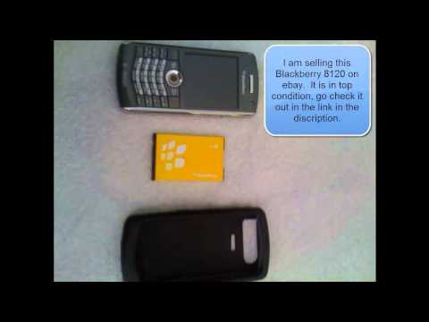 Blackberry Pearl 8120 for Sale