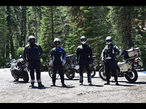 Part 2 of 2 - Nomad Motorcycle Camping Epic 5 Day Adventure - Fulfilling A Childhood Daydream