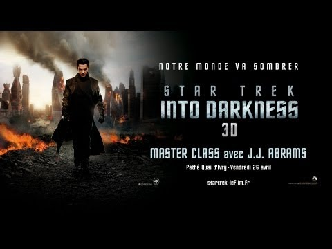 Master class de J.J. Abrams pour STAR TREK INTO DARKNESS