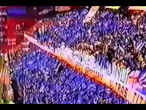 SAMPDORIA Genoa 1992 COREOGRAFIA SUD E DISTINTI