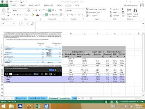 Precedent Transaction Analysis