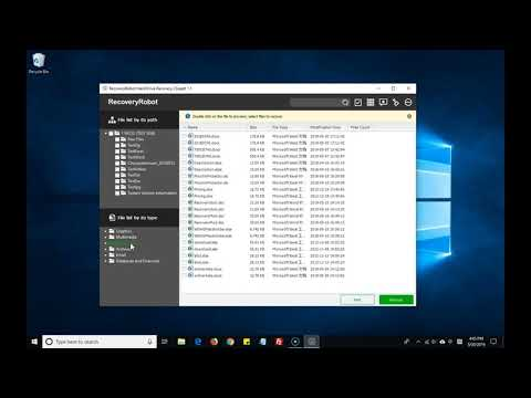 How to Recover Images with RecoverRobot Hard Drive Recovery Software