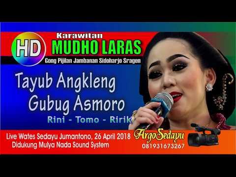 ANKLENG GUBUG ASMORO (HD) Mudho Laras Joss, RINI RIRIK TOMO live Wates Sedayu