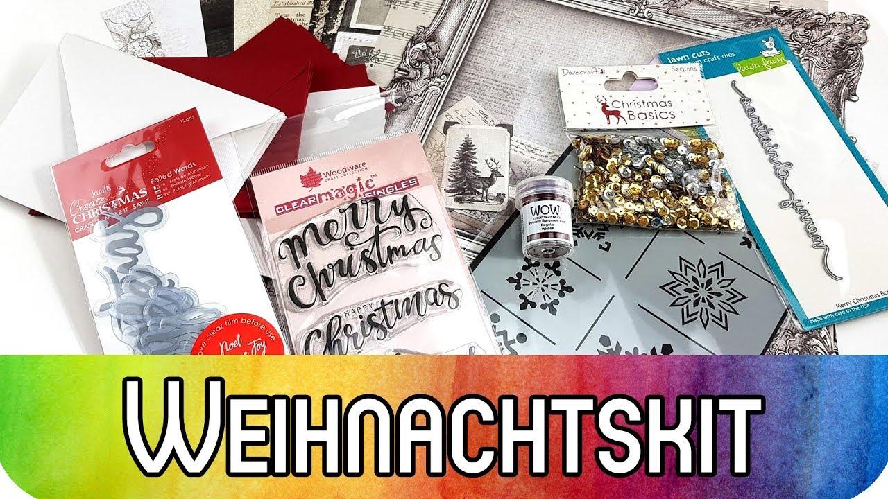 Karten & Scrapbooking Special Kit: Elegantes Weihnachten ...