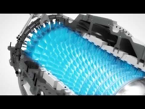 Осевая газовая турбина Siemens SGT-750