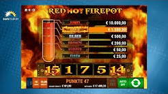 Ramses Book 'Red Hot Firepot' - Gamomat Automat - sunmaker