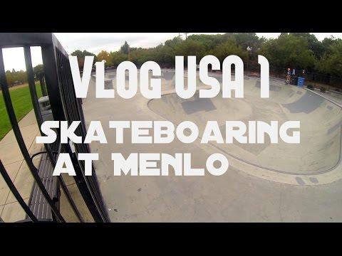 SKATEBOARDING AT MENLO (vlog)