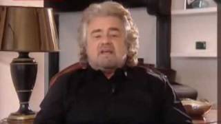 Beppe Grillo: il nstro pil è fatto di corruzione - parte 1