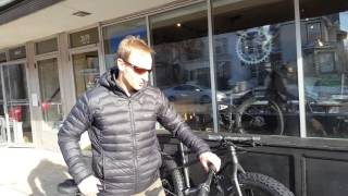 Light fat bikes at LaMere Cycles  sub 23lb fat bike with Bud and Nate
