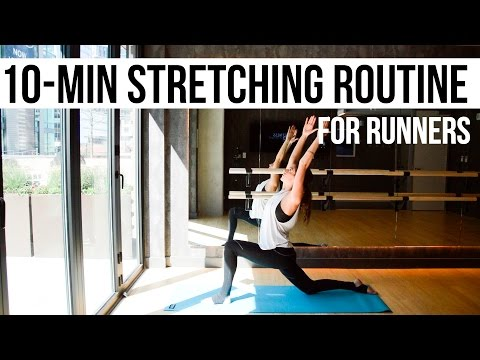 10-Minute Guided Stretching Routine for Runners