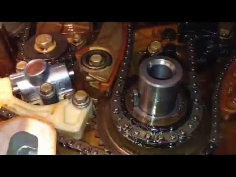 Замена натяжителя цепи на Шевроле каптива C140 2 4 LE5LE9