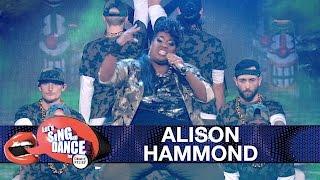 Alison Hammond performs Missy Elliot