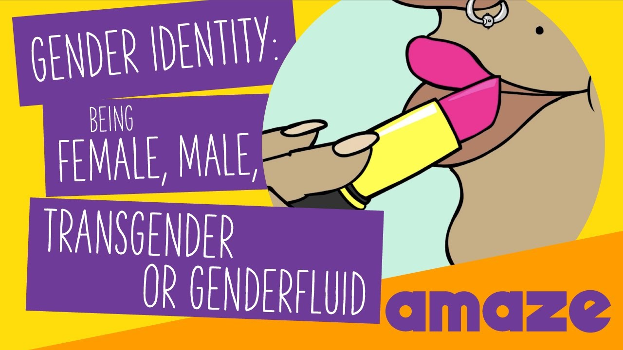 gender identity: being female, male, transgender or genderfluid
