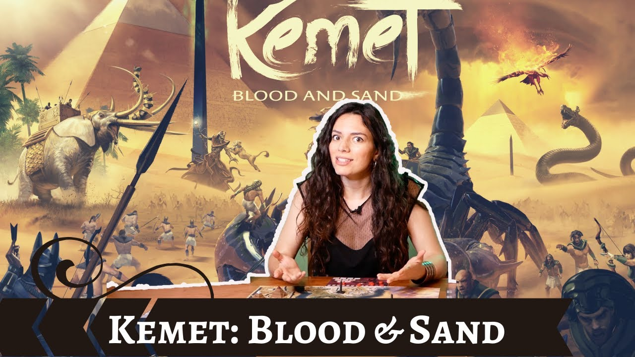 Kemet: Blood & Sand - Play it Right | Cardboard Rhino