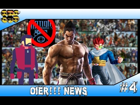 OIER!!! News #4 - Novo SSJ no DB Xenoverse, Fim da Airtight games, Gods will be watching e Tekken 7
