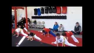Tokyo Joe's Studios of Self Defense Juniors in Action