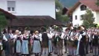 Blasmusik in Piding, Platzkonzert 1