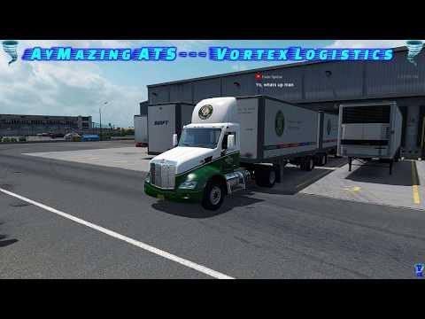 Old Dominion Freight Line | Company Drive | American Truck Simulator[English]