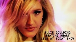 Ellie Goulding - Beating Heart (Lyric Video) (Live Acoustic at Today Show)
