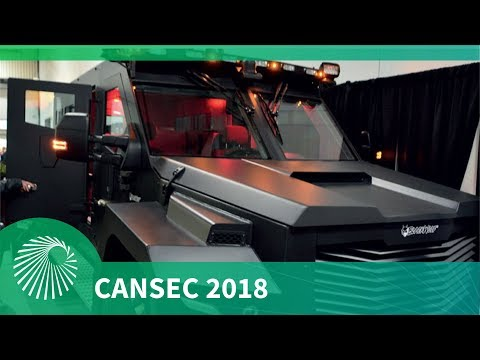 CANSEC 2018: Cambli Blackwolf Armoured vehicle
