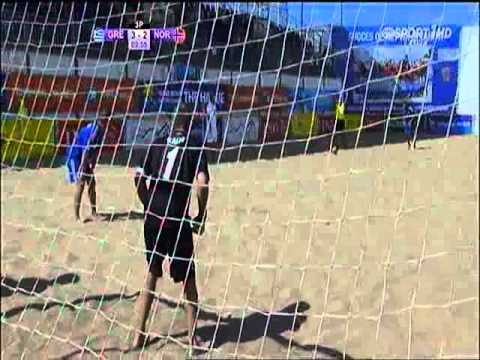 Beach soccer HELLAS -  NORWAY PART  2 & 3      5 - 4