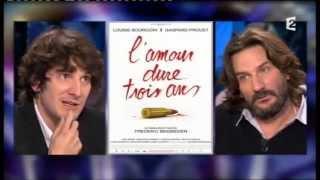 Frédéric Beigbeder et Gaspard Proust - On n'est pas couché 14 janvier 2012 #ONPC