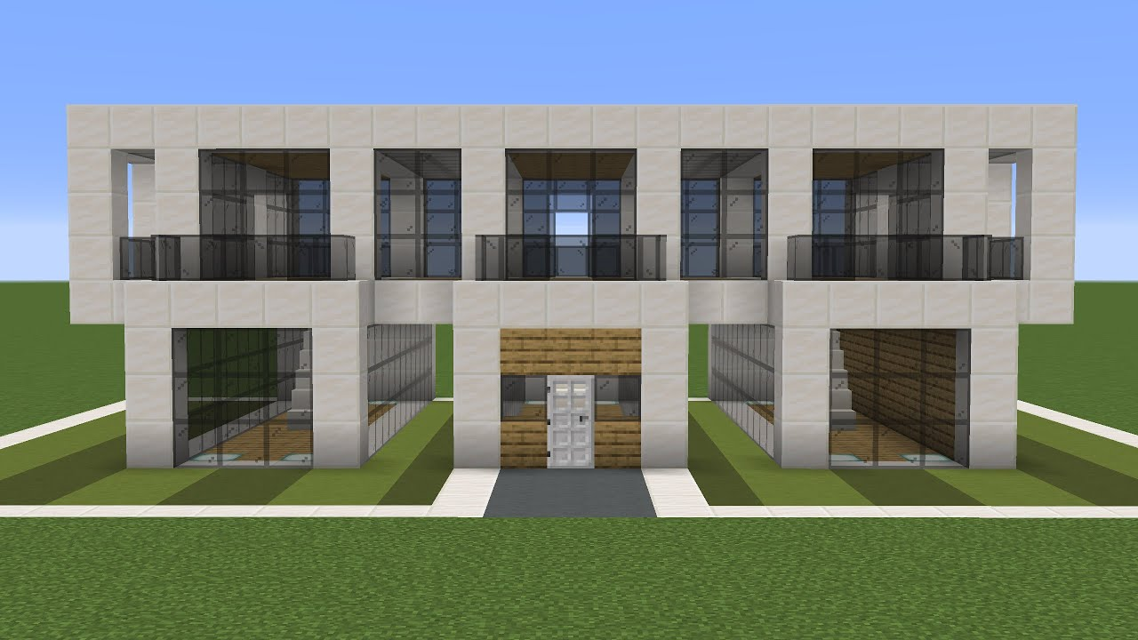 Minecraft - How to build a small modern house