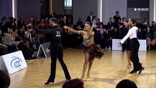 Stefano Di Filippo & Dasha - korea open 2019- Pro Latin l chachacha