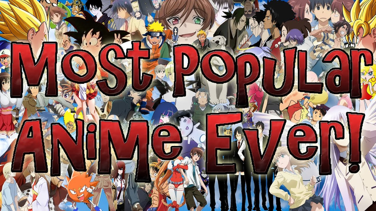 Most Popular Anime Of All Time
