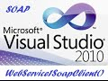 Create web service in visual studio 2010 to retrieve data from SQL Server.