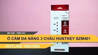 Ổ cắm điện đa năng Huntkey 3 chấu bán tại Hà Nội SZM401