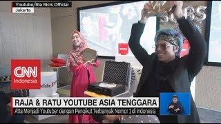 """Download Video Atta & Ricis, Resmi Menyandang """"Raja & Ratu"""" Youtube Asia Tenggara MP3 3GP MP4"""