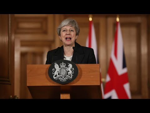 'High time we made a decision': May pleads with lawmakers to back her on Brexit