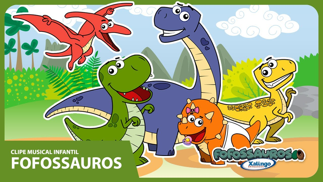 aab5ec2be87 Desenho Animado Fofossauros - YouTube