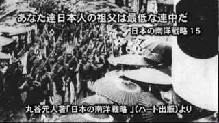 「あなた達日本人の祖父は最低な連中だ」という無知なる断罪─日本の南洋戦略15