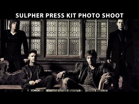 Sulpher Press Kit Photo Shoot - London 2012 - by Lucky Life TV