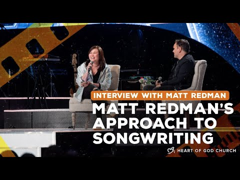 Matt Redman's Approach to Songwriting | Interview by Pastor Cecilia Chan (Pastor Lia)