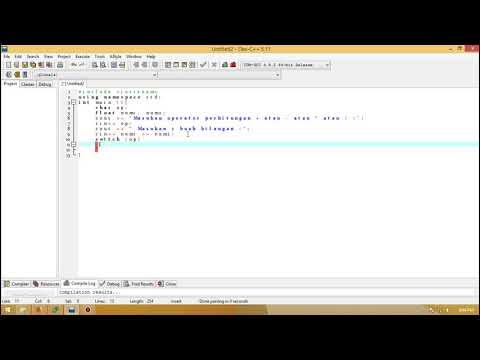 Cara Membuat Aplikasi Kalkulator Dengan C++